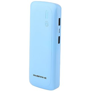 Ambrane Power bank P-1250 12500mah Blue