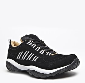 Foot n Style Black Sports Shoes For Men's - fs203A