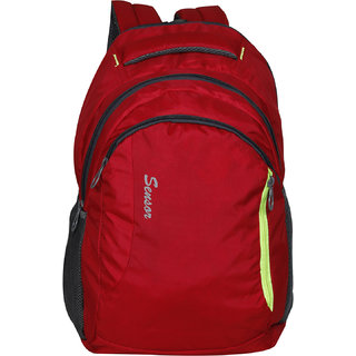 e9c54c0fd2be Buy Sensor Opus 19216-Red Laptop Backpack Online - Get 40% Off