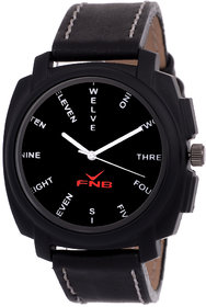 FNB Black Dial Analogue watch for Men fnb0062