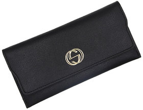 ZELP Thin Solid Color Long Wallet