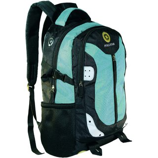 POLLSTAR Luminous 29 Litres Casual Backpack for School/College/Office with Laptop Padding up to 15.6 inch (BP2500SBL)