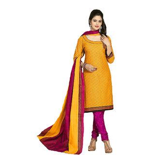 Shree Ganesh Retail Multicoloured Cotton Dress Material