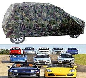 Benjoy Car Body Cover Miltery Print For Hyundai i10
