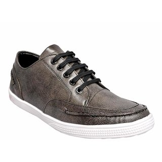 Ostr Men's Casual Grey Sneaker Shoes