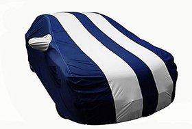 Benjoy Arc Blue Stylish Silver Stripe Car Body Cover For Maruti Suzuki  SX4