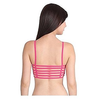 d96258146f Buy 6 Straps Brink Pink Padded Bralette (removable pads) (Brink Pink ...