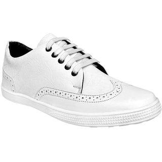 Ostr Men's Casual White Sneaker Shoes