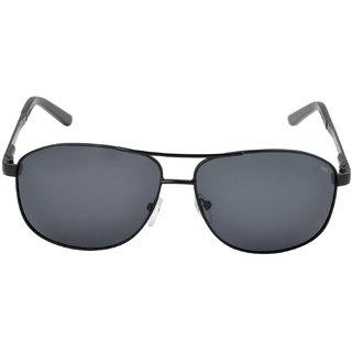 LawmanPg3 UV Protected Grey Unisex Sunglasses