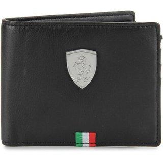 Puma Mens Flag Black Wallet (Pack of 10)