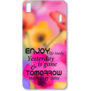 Lenovo K3 Note Designer Hard-Plastic Phone Cover from Print Opera - Enjoy Life