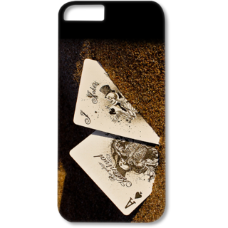 IPhone 6-6s Designer Hard-Plastic Phone Cover from Print Opera - Cards In Soil