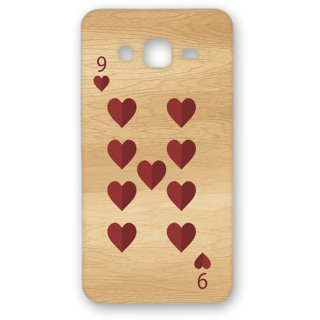Samsung Galaxy On5 Designer Hard-Plastic Phone Cover from Print Opera - 9 Of Heart