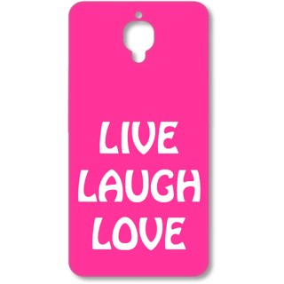One Plus Three Designer Hard-Plastic Phone Cover from Print Opera - Rules Of Life