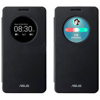 Flip Window Back Case Cover For Asus Zenfone 5 S-View Circle
