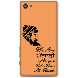 Sony Xperia Z5 Compact Designer Hard-Plastic Phone Cover from Print Opera - Punjabi Boy