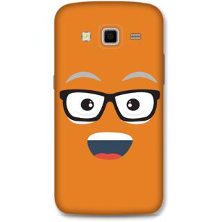 Samsung Galaxy Grand 2 Designer Hard-Plastic Phone Cover from Print Opera - Nerdy Face