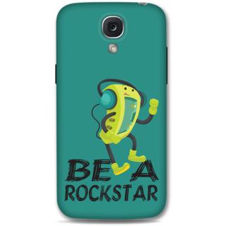 Samsung Galaxy S4 Designer Hard-Plastic Phone Cover from Print Opera - Be A Rockstar