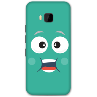 HTC one M9 Designer Hard-Plastic Phone Cover from Print Opera - Cute Face