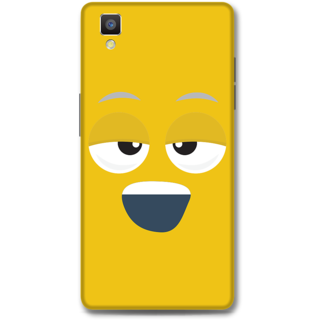 Oppo F1 Designer Hard-Plastic Phone Cover from Print Opera - Yawn Face