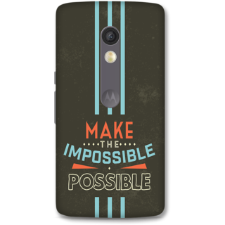Moto X Play Designer Hard-Plastic Phone Cover from Print Opera - Make The Possible