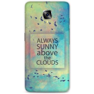 One Plus Three Designer Hard-Plastic Phone Cover from Print Opera - Quota