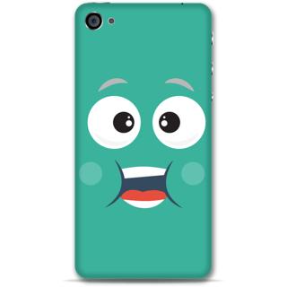 IPhone 4-4s Designer Hard-Plastic Phone Cover from Print Opera - Cute Face