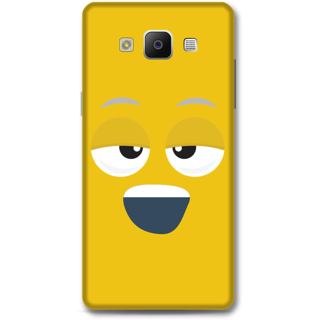 Samsung Galaxy A5 2014 Designer Hard-Plastic Phone Cover from Print Opera - Yawn Face