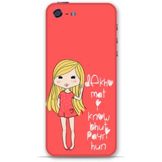 IPhone 5-5s Designer Hard-Plastic Phone Cover from Print Opera - Cute Girl