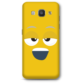 Samsung Galaxy A8 2015 Designer Hard-Plastic Phone Cover from Print Opera - Yawn Face