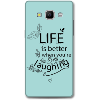 Samsung Galaxy A7 2015 Designer Hard-Plastic Phone Cover from Print Opera - Better Life