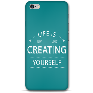 IPhone 6-6s Plus Designer Hard-Plastic Phone Cover from Print Opera - Life