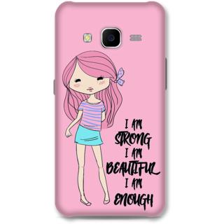Samsung Galaxy J7 2015 Designer Hard-Plastic Phone Cover from Print Opera - Sweet Girl