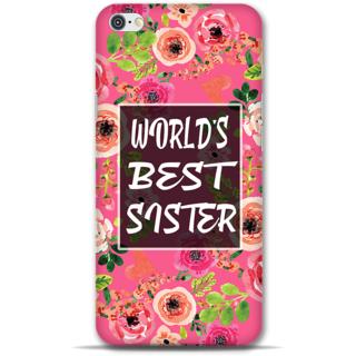 IPhone 6-6s Designer Hard-Plastic Phone Cover from Print Opera - World Best Sister