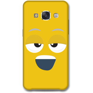 Samsung Galaxy E7 Designer Hard-Plastic Phone Cover from Print Opera - Yawn Face