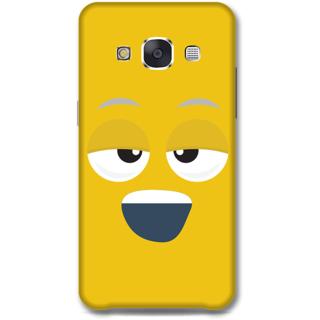 Samsung Galaxy E7 Designer Hard-Plastic Phone Cover from Print Opera - Yawn Face