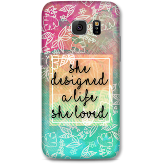 Samsung Galaxy S6 Designer Hard-Plastic Phone Cover from Print Opera - She Designed A Life
