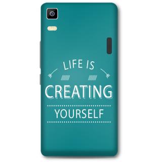 Lenovo K3 Note Designer Hard-Plastic Phone Cover from Print Opera - Life