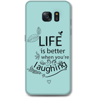 Samsung Galaxy S7 Edge Designer Hard-Plastic Phone Cover from Print Opera - Better Life