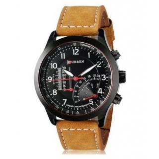Curren Meter Round Analog Watch For Men Boys By Hans