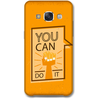 Samsung Galaxy E7 Designer Hard-Plastic Phone Cover from Print Opera - Motivational