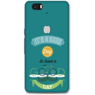 Google Nexus 6p Designer Hard-Plastic Phone Cover from Print Opera - Good Day