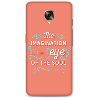 One Plus Three Designer Hard-Plastic Phone Cover from Print Opera - Imagination