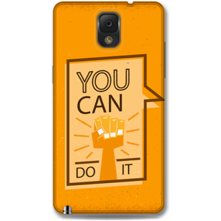 Samsung Galaxy Note 3 Designer Hard-Plastic Phone Cover from Print Opera - Motivational
