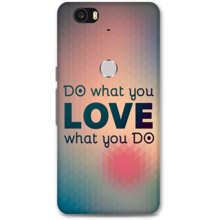Google Nexus 6p Designer Hard-Plastic Phone Cover from Print Opera - Do What You Love