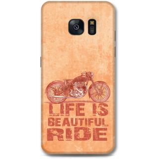 Samsung Galaxy S7 Edge Designer Hard-Plastic Phone Cover from Print Opera - Bullet Ride