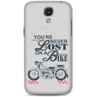 Samsung Galaxy S4 Designer Hard-Plastic Phone Cover from Print Opera - Never Lost On a Bike