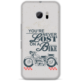 Htc 10 Designer Hard-Plastic Phone Cover from Print Opera - Never Lost On a Bike