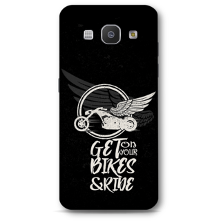Samsung Galaxy A8 2015 Designer Hard-Plastic Phone Cover from Print Opera - Get On Your Bikes