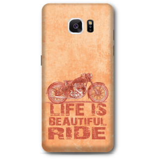 Samsung Galaxy Note 5 Designer Hard-Plastic Phone Cover from Print Opera - Bullet Ride
